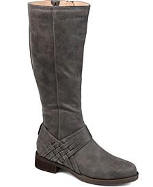 Women's Wide Calf Meg Boot