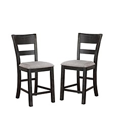 Avaleon Slat Back Counter Chair (Set of 2)