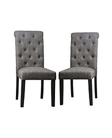Skyee Scroll Back Side Chair- Set of 2