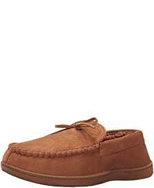 Men's Classic Boater Moccasin Slippers