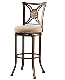 Rowan Swivel Bar Height Stool