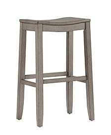 Fiddler Non-Swivel Backless Counter Height Stool