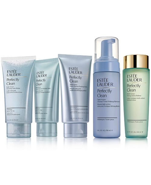 Estee Lauder Perfectly Clean Skincare Collection