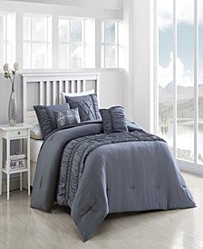 Navier Ruched Bedding Sets