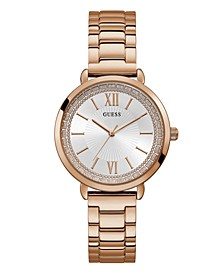 Women's Rose Gold-Tone Stainless Steel Watch, 38mmm
