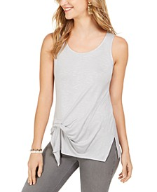 Tie-Front Sleeveless Top, Created for Macy's
