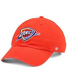 Oklahoma City Thunder NBA CLEAN UP Strapback Cap