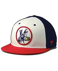 Kansas City Scouts Tri-Color Throwback Snapback Cap