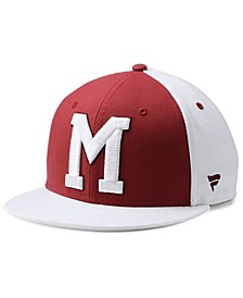 Montreal Maroons Tri-Color Throwback Snapback Cap