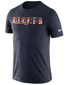 Men's Chicago Bears Dri-FiT Mezzo Tear T-Shirt