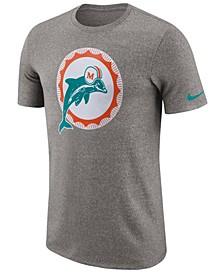 Men's Miami Dolphins Marled Historic Logo T-Shirt