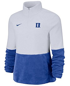 Women's Duke Blue Devils Therma Long Sleeve Quarter-Zip Pullover