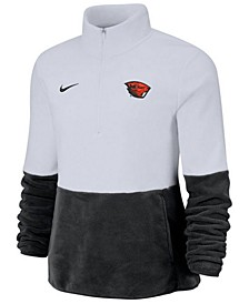 Women's Oregon State Beavers Therma Long Sleeve Quarter-Zip Pullover