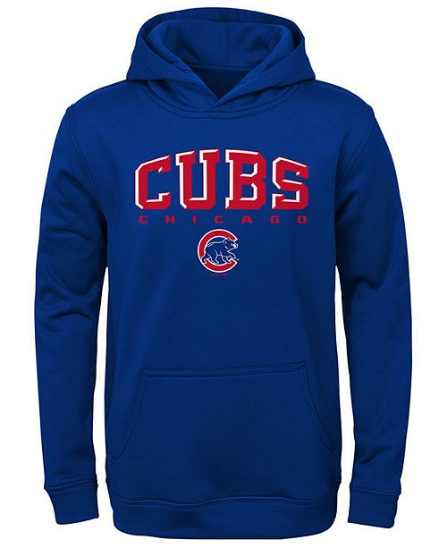 Outerstuff Big Boys Chicago Cubs Fleece Hoodie