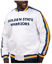 Men's Golden State Warriors The D-Line Starter Satin Jacket