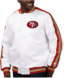 Men's San Francisco 49ers The D-Line Starter Satin Jacket