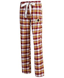 Women's Washington Redskins Piedmont Flannel Pajama Pants