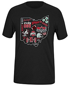 Men's Ohio State Buckeyes Best of Dual Blend T-Shirt