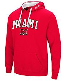 Men's Miami (Ohio) Redhawks Arch Logo Hoodie