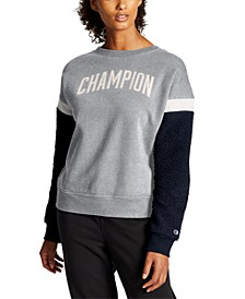 Women's Heritage Fleece Colorblocked Sweatshirt