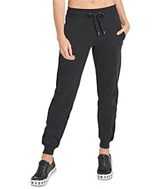 Sport Velour-Trimmed Fleece Joggers
