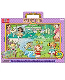Fairy Fun Magnetic Playboard and Puzzle