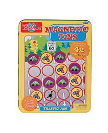 Traffic Jam Magnetic Tin Playset