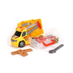 Dickie Toys Push and Play Construction Handyman Case Vehicle