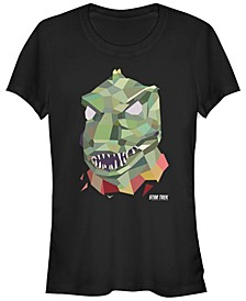 Star Trek Original Series Women's Gorn Geometrical Short Sleeve Tee Shirt