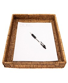 Rattan Office Paper Tray