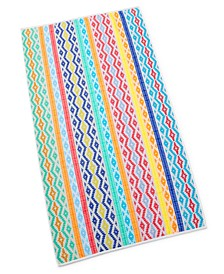 Inca Stripe Bath Towel, Created for Macy's