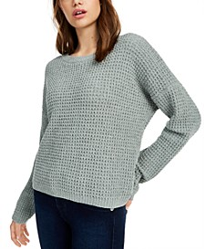 Juniors' Chenille Sweater