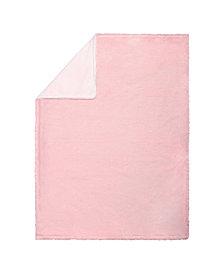Pink Plush Baby Blanket