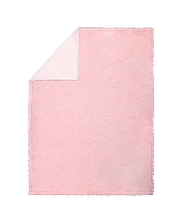Trend Lab Pink Plush Baby Blanket