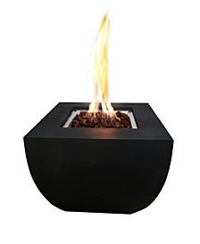 "34"" Aurora Outdoor Fire Pit Table Liquid Propane"