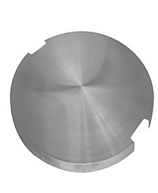 Stainless Steel Outdoor Lunar Bowl Fire Pit Table Cover