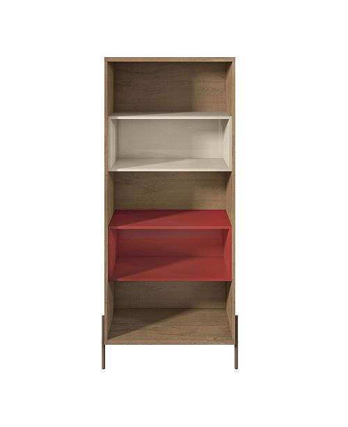 Manhattan Comfort Joy 5- Shelf Bookcase