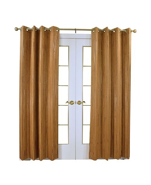 Versailles Home Fashions Unbanded Bamboo Panel 8 Grommets