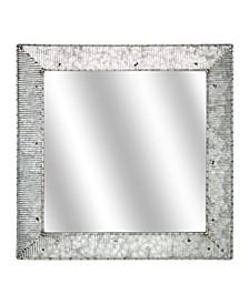 American Art Decor Galvanized Wall Vanity Mirror