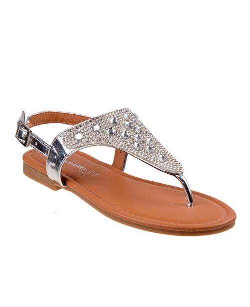 Kensie Girl Big Girls Thong Sandals