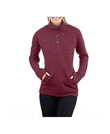 Merritt Quilted Pullover