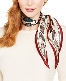 The Bird Nerd Silk Kite Scarf