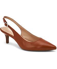 Women's Step 'N Flex Babbsy Pointed-Toe Slingback Pumps, Created for Macy's