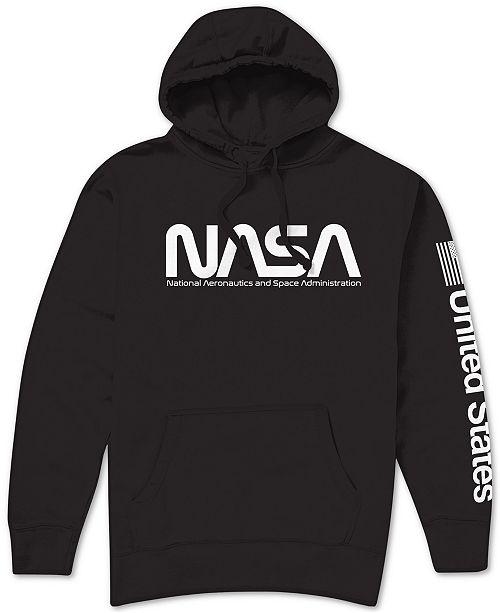 Hybrid NASA Logo Men's Hoodie