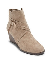 Women's Hollis X-Strap Wedge Booties