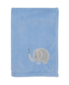 Elephant Baby Blanket and Changing Pad Cover Collection