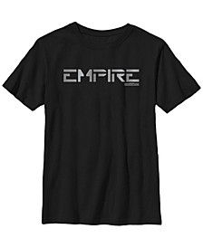 Big Boys Jedi Fallen Order Empire Text Short Sleeve T-Shirt