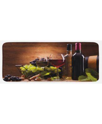 Wine Kitchen Mat