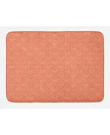 Peach Bath Mat