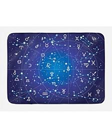 Astrology Bath Mat